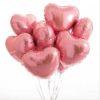 Сердце шар с гелием 9342