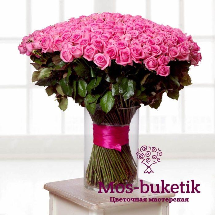 301 роза купить в Москве и Московской области недорого с доставкой!