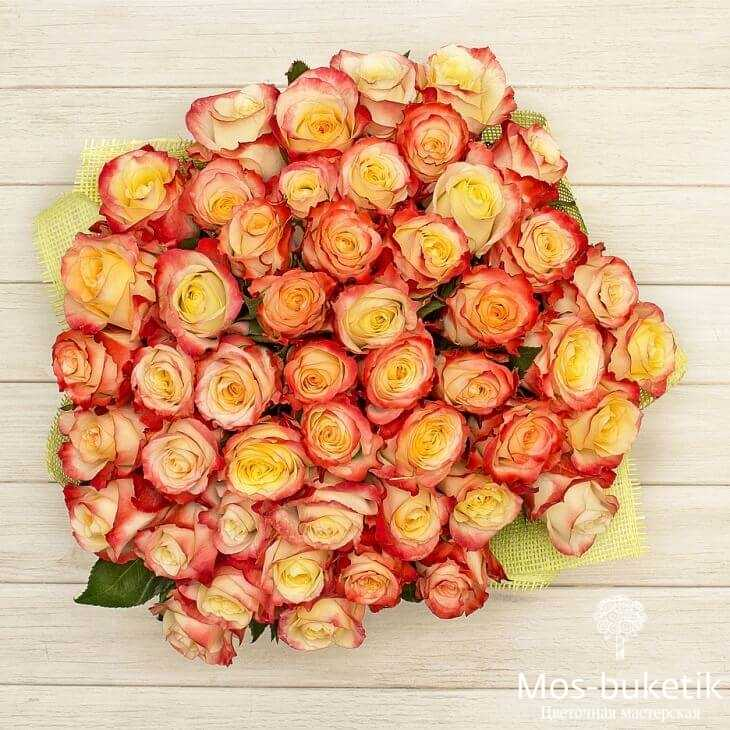 Букет из 51 роз Хай Мэджик