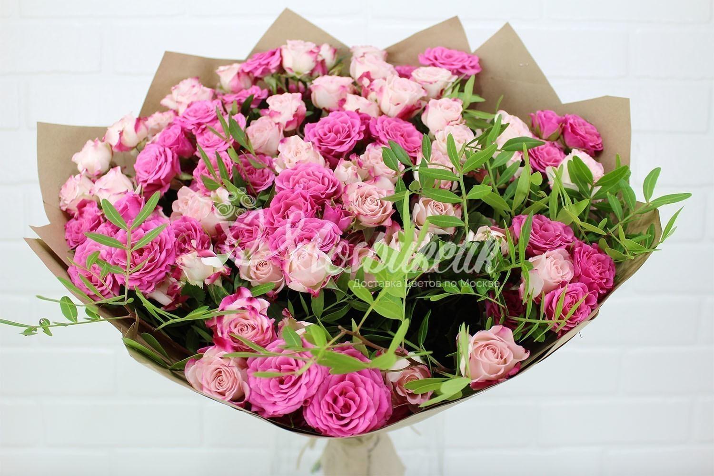 цветы и авторские букеты в москве