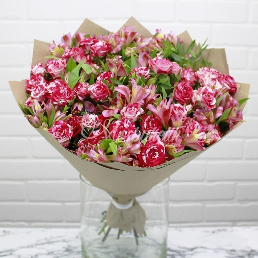доставка цветов из рижского рынка авторские в Москве