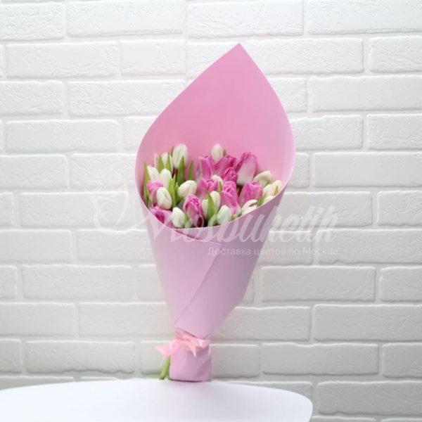 Букет из 29 тюльпан