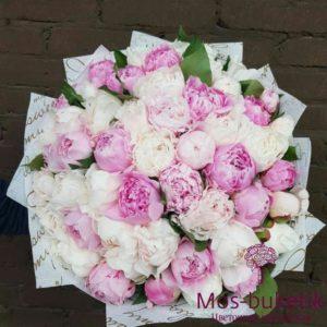 Букет из 29 кустовых роз