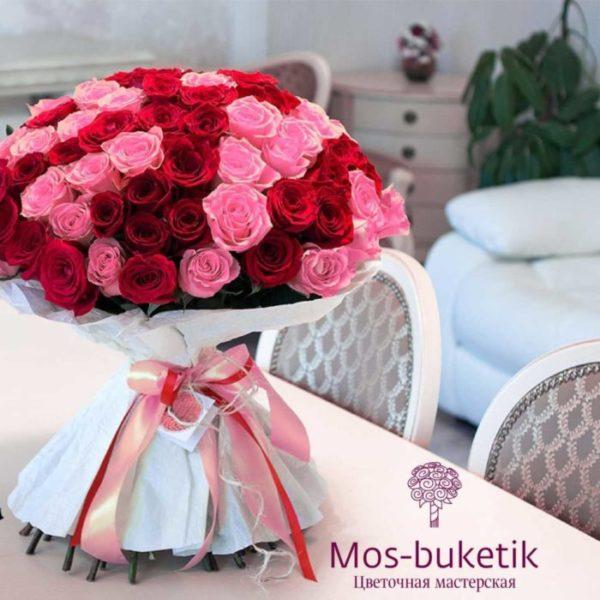 101 роза: апофеоз любви