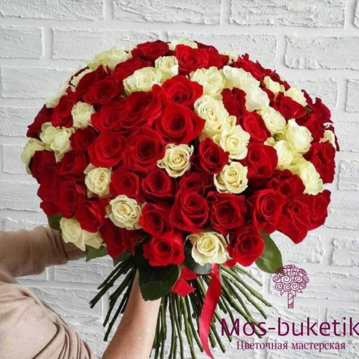 101 роза с доставкойнедорого