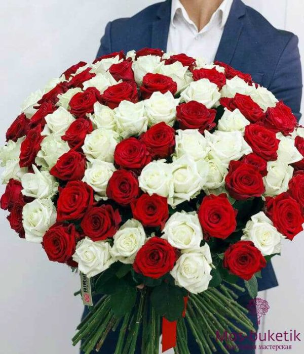 Букет из 101 розы недорого