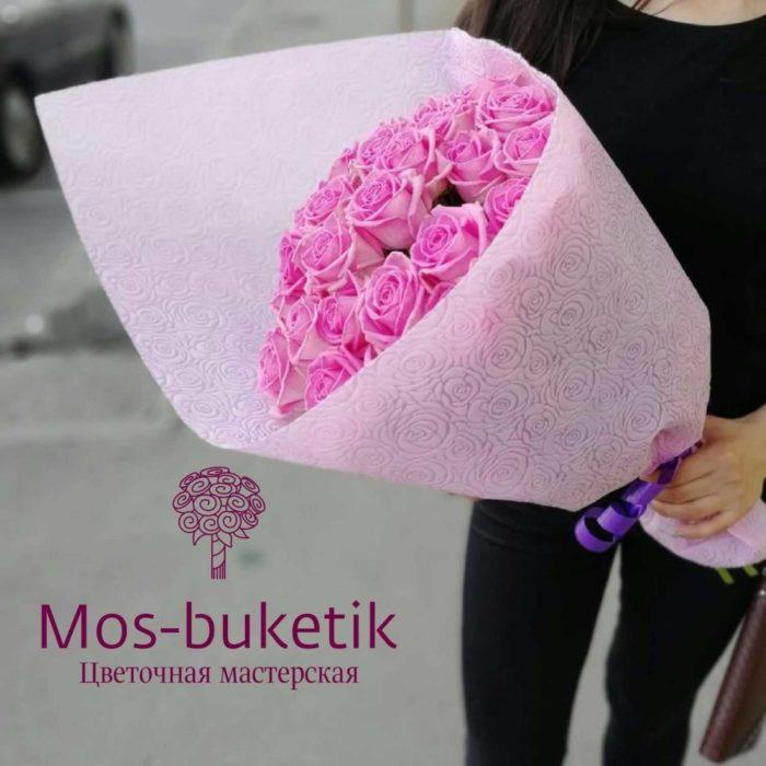 Букет из 29 роз как на фото купить в Москве