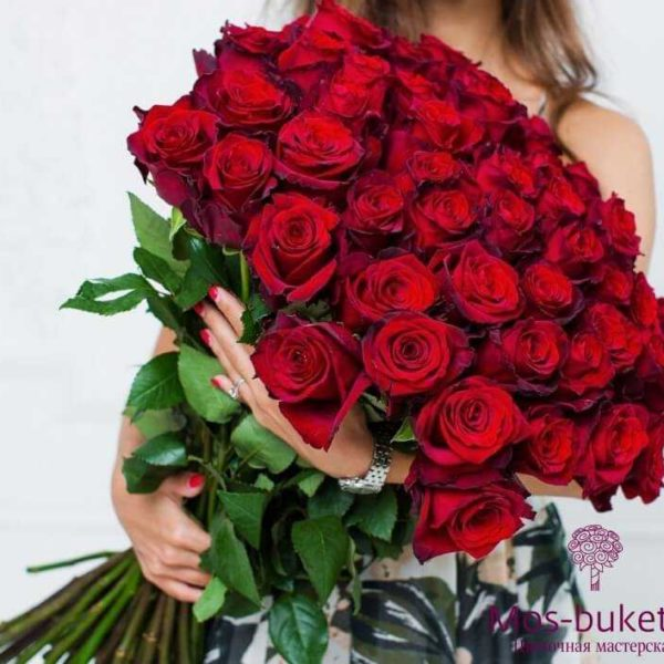 Букет из 51 розы недорого2