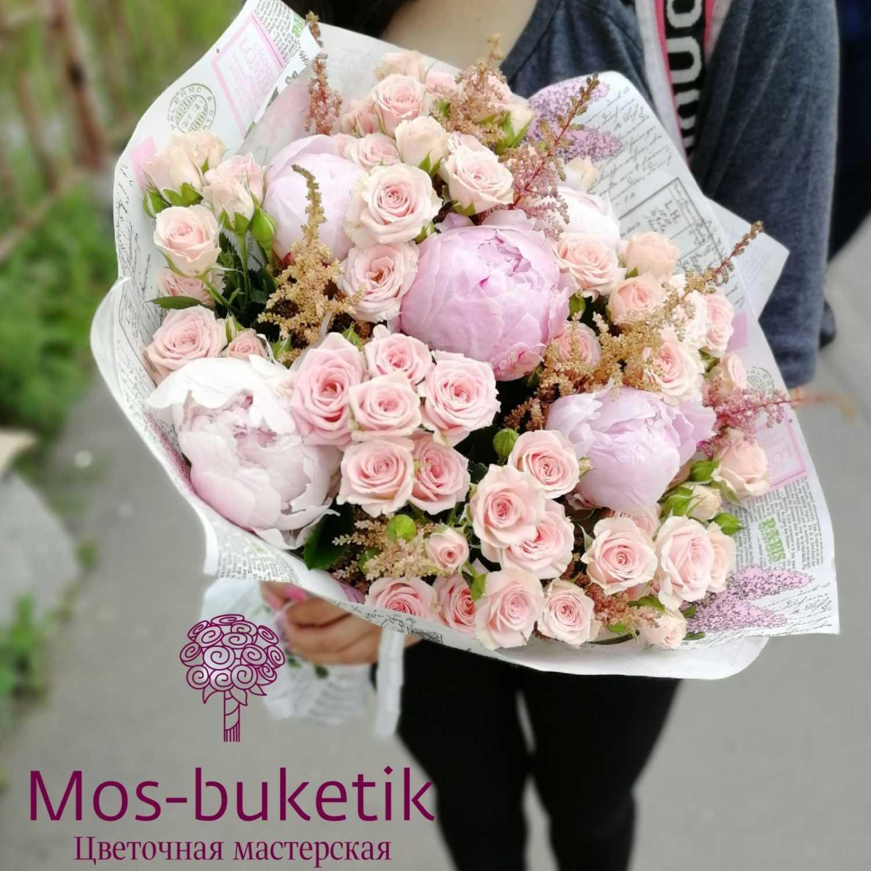 Букет из 29 роз в коробке