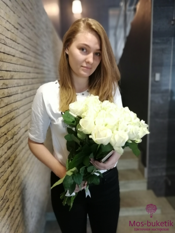 Букет из 19 роз