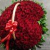 301 роза в корзине недорого 7095